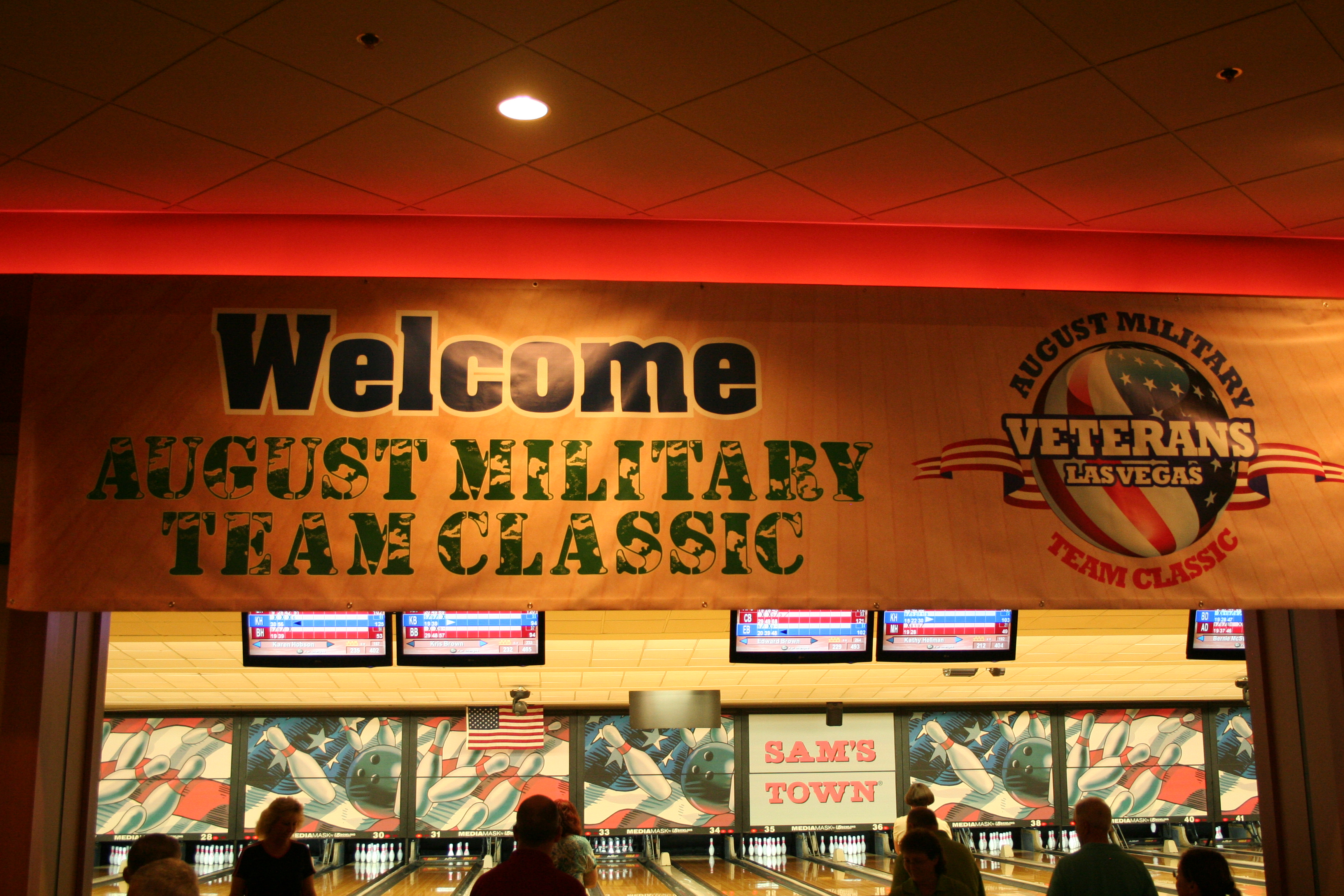 Welcome to the 2013 August Military Team Classic - sold out with 164 teams!