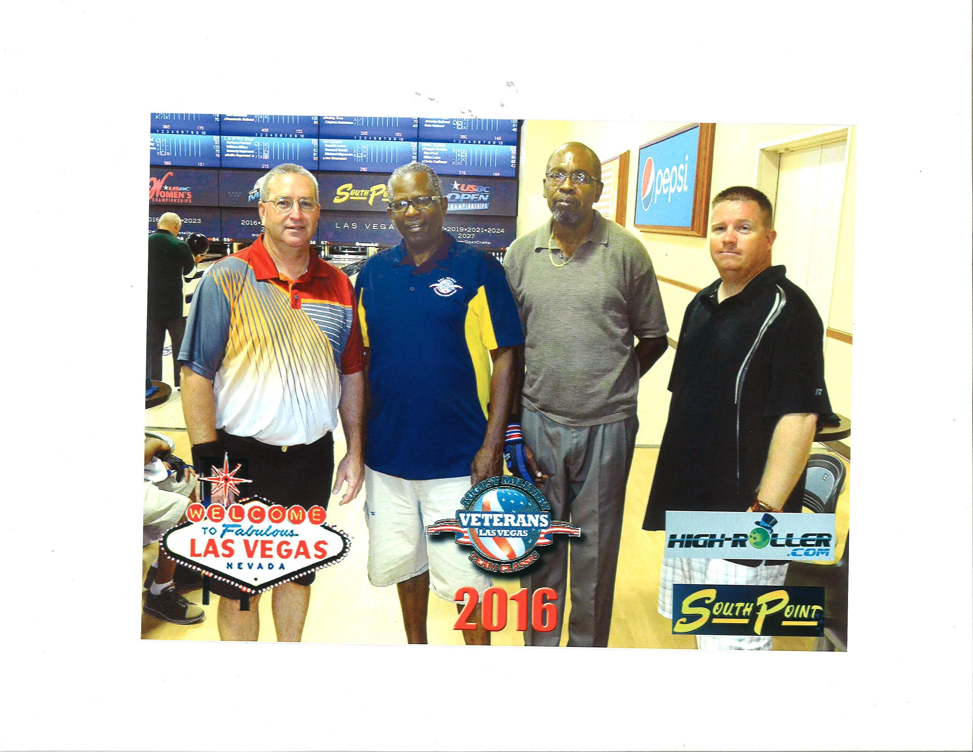 Mike Lane, Reggie Brown, Kim Paul & Chris Coffman - Silver Bullets $10,000 Team Champs!
