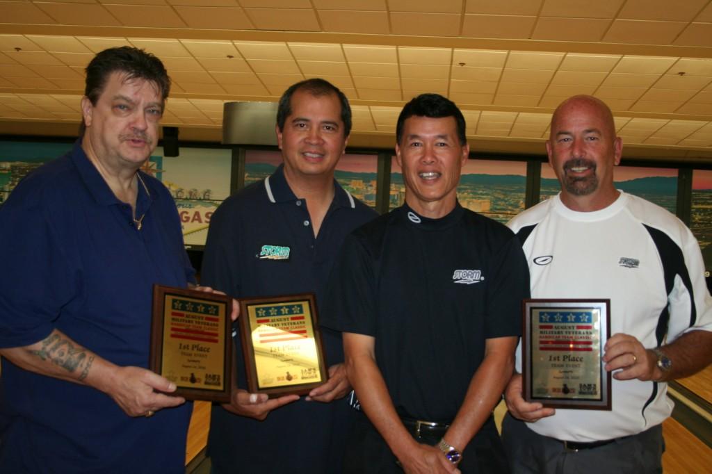 Team Storm - Jim Moran, Norm Palomares, Terry Leong & Max Shellabarger